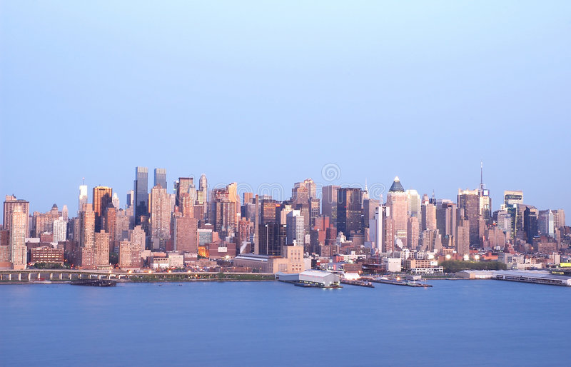 Download NYC Skyline 4 Stock Image - Image: 122471