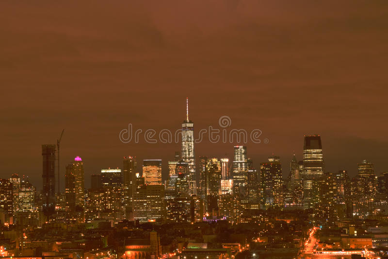 NYC-Skyline stockfoto