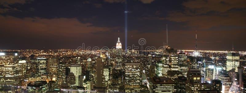 NYC Skyline stockfoto