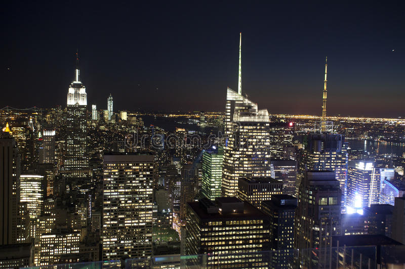 Download NYC Skyline stock image. Image of building, famous, blue - 34213473