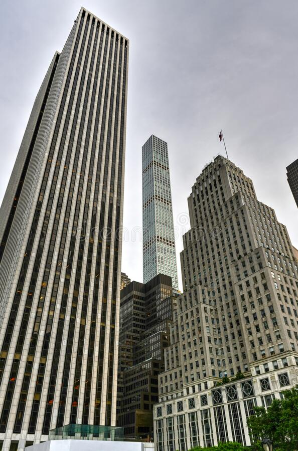 NYC Skyscrapers royalty free stock photo