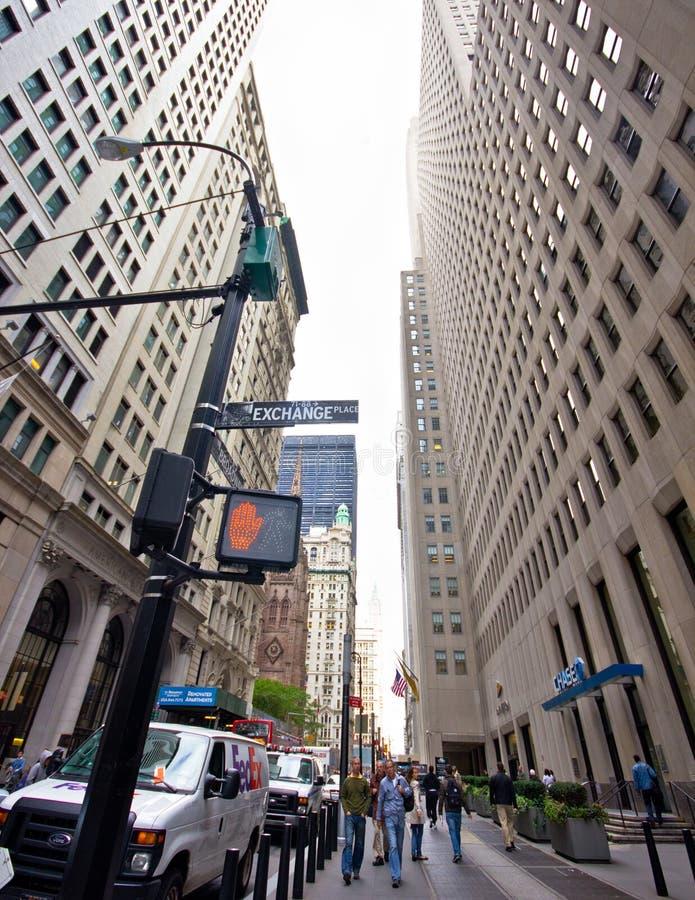 NYC Stock Exchange stock images
