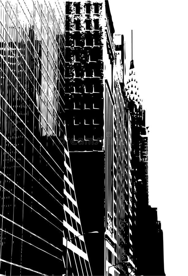 Download NYC Street stock illustration. Image of illustration, white - 3518883