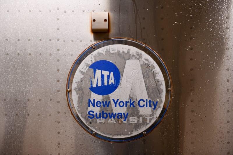 NYC Subway royalty free stock photo
