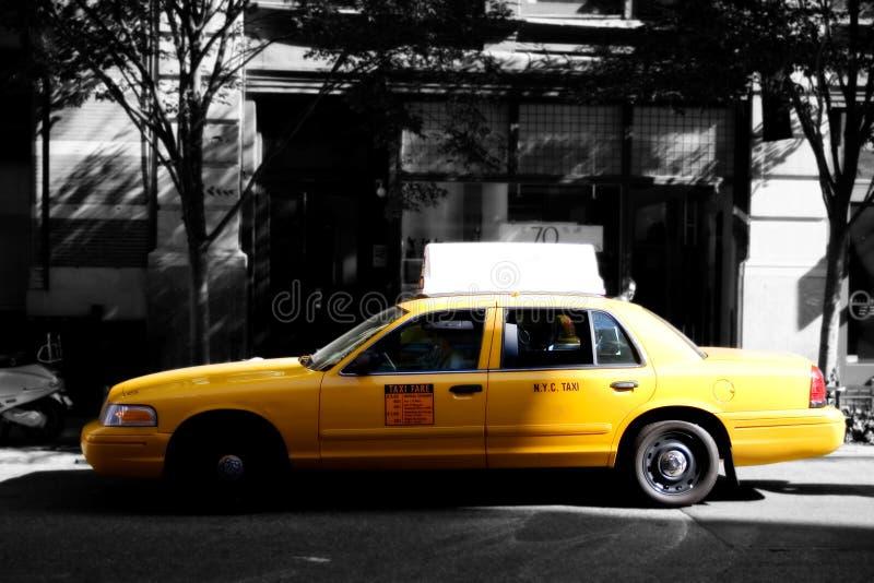 nyc taxy στοκ φωτογραφίες με δικαίωμα ελεύθερης χρήσης