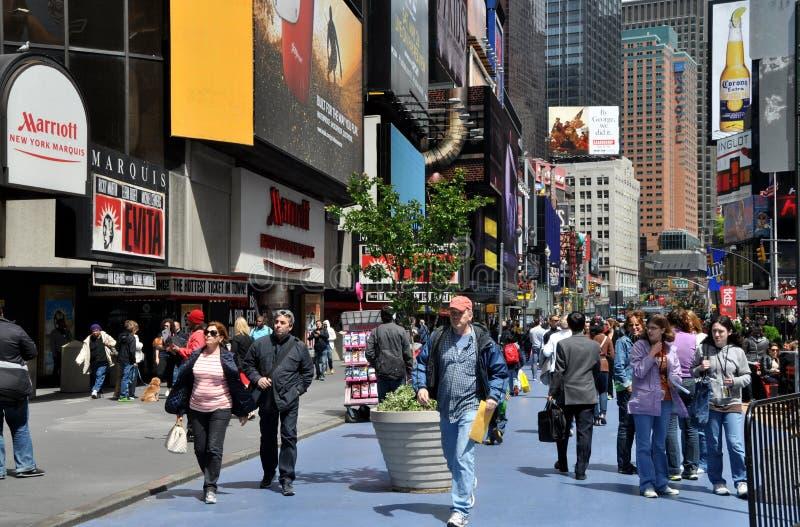 NYC: Times Square imagen de archivo libre de regalías