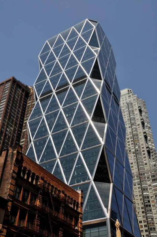 NYC: A torre de Hearst foto de stock