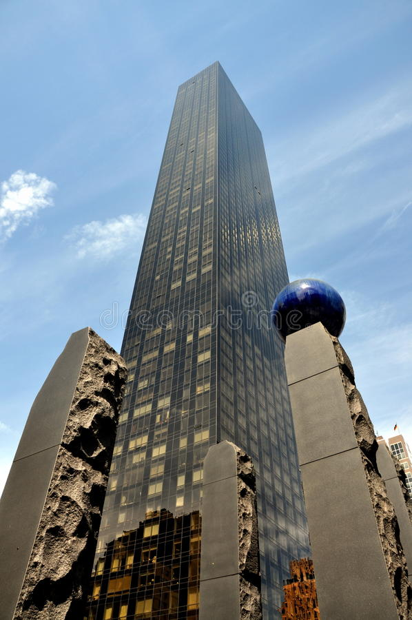 NYC : Tour d'International d'atout photos stock