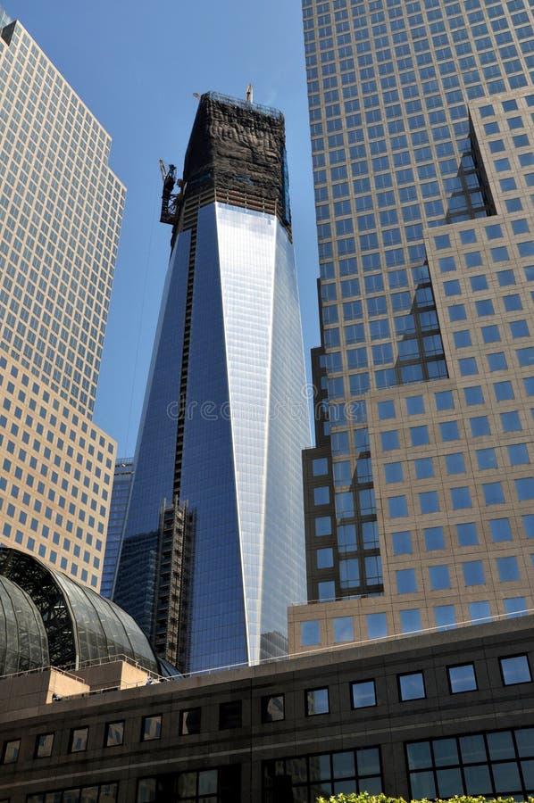 NYC: Una torre del World Trade Center fotos de archivo libres de regalías