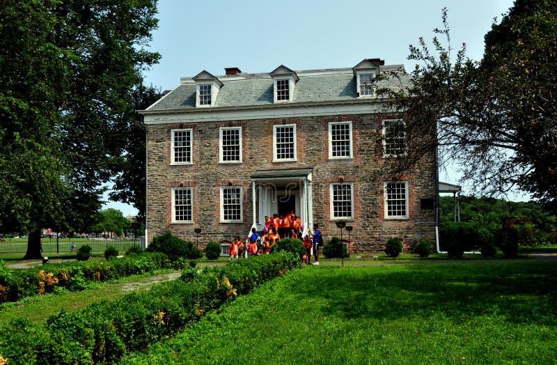 NYC: Van Cortlandt Manor House Museum 1748 imágenes de archivo libres de regalías