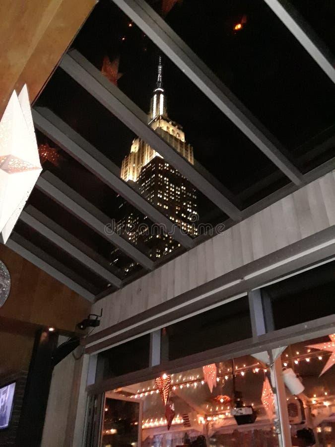 NYC wierzchołek skała zdjęcia stock