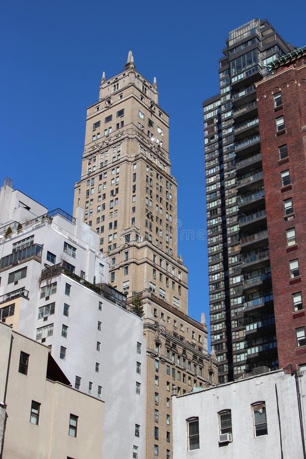 NYC-Wolkenkrabbers stock afbeelding