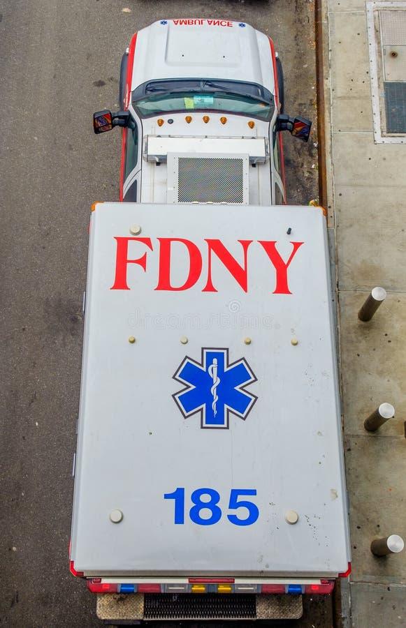NYC-Ziekenwagen stock foto