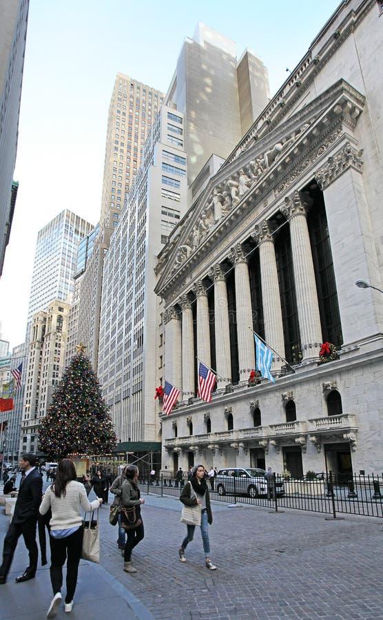 NYCE New York Stock Exchange, EUA fotografia de stock royalty free