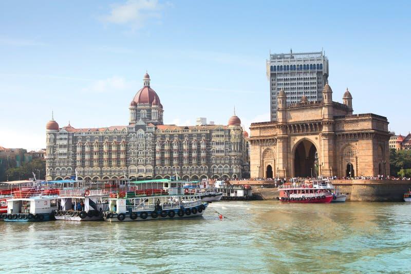 Nyckel av det Indien och Taj hotellet arkivfoto