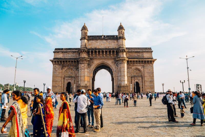 Nyckel av Indien Mumbai arkivbild