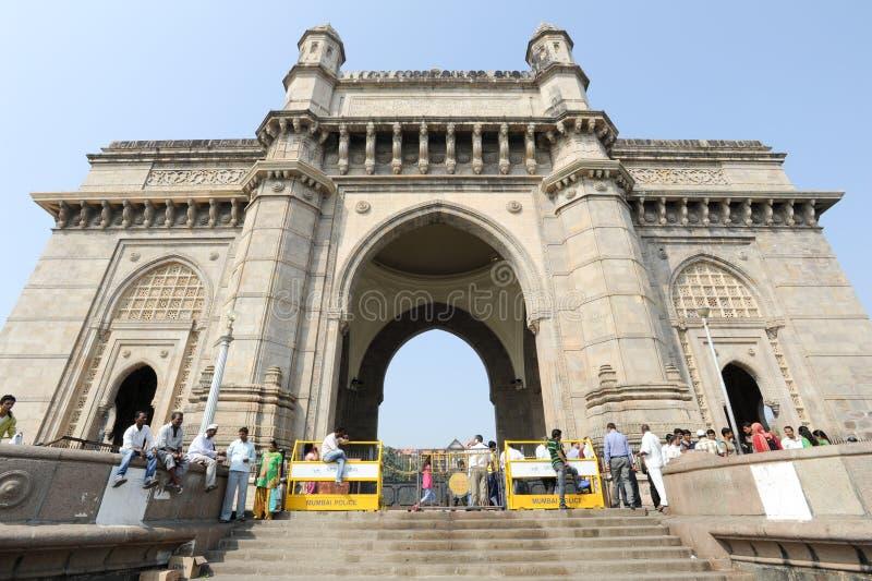 Nyckel av Indien på Mumbai, Indien royaltyfria bilder