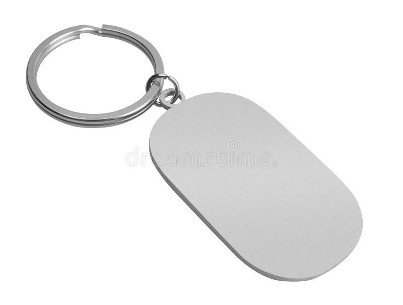Nyckel- kedja med utrymme för text royaltyfri foto