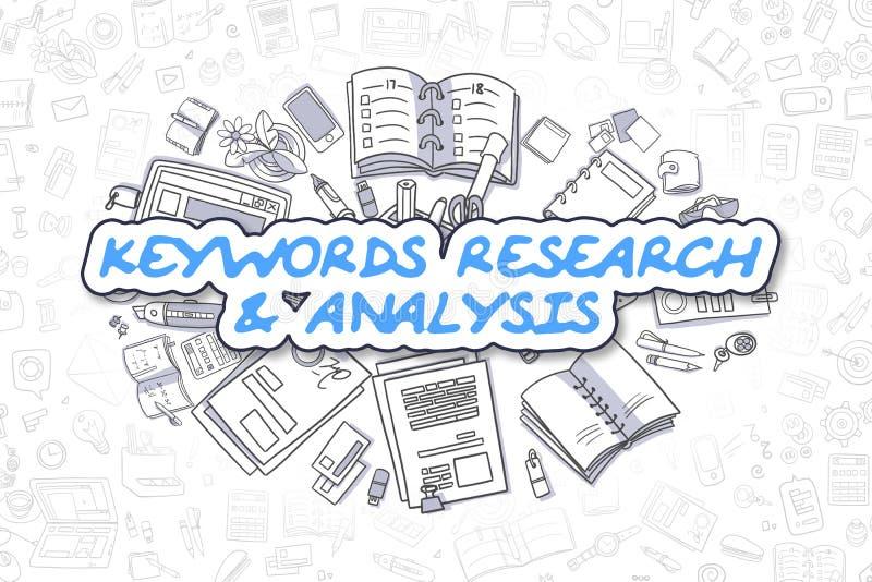 Download Nyckelord Forskning Och Analys - Affärsidé Stock Illustrationer - Illustration av meta, marknadsföring: 78725089