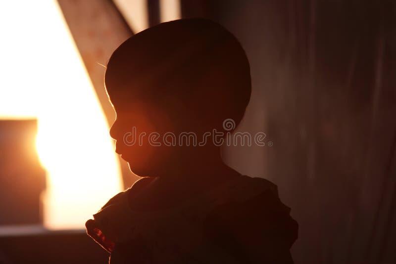 Nyfödd flicka royaltyfri fotografi