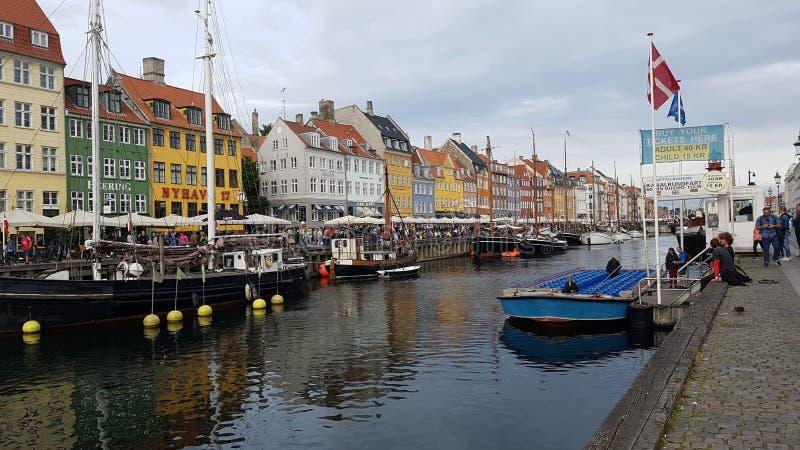 Nyhavn à Copenhague photos stock