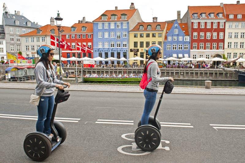 Nyhavn royalty-vrije stock afbeelding