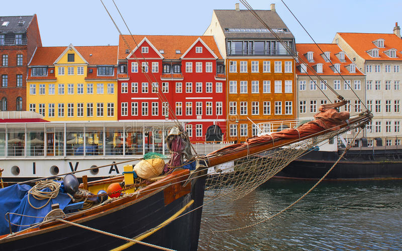Nyhavn foto de archivo