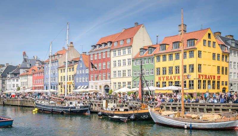 Nyhavn imagenes de archivo