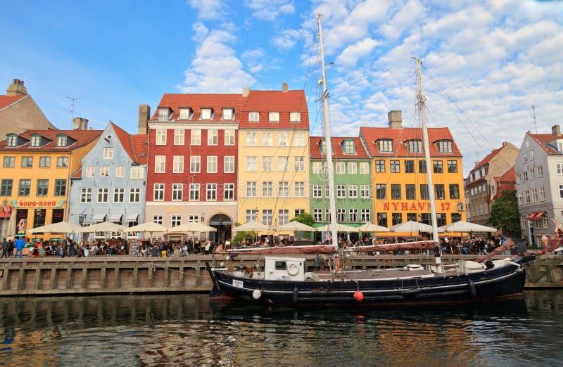 Nyhavn, Copenhaga fotos de stock