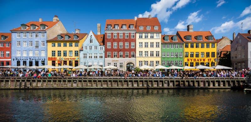 Nyhavn, Copenhaga fotografia de stock royalty free