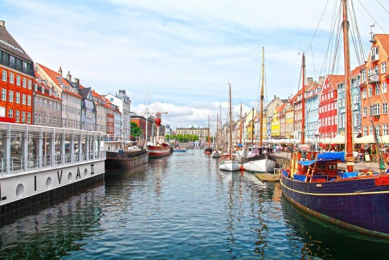 nyhavn copenhagen стоковое фото rf