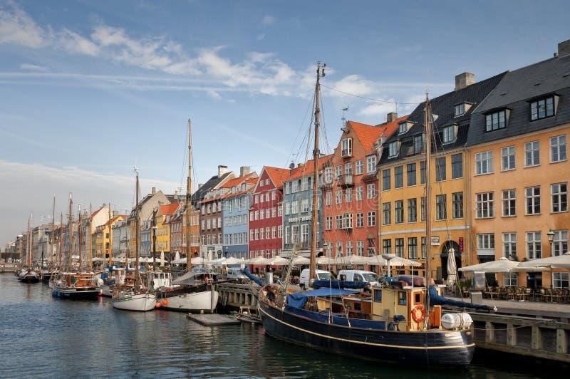 nyhavn copenhagen стоковые изображения