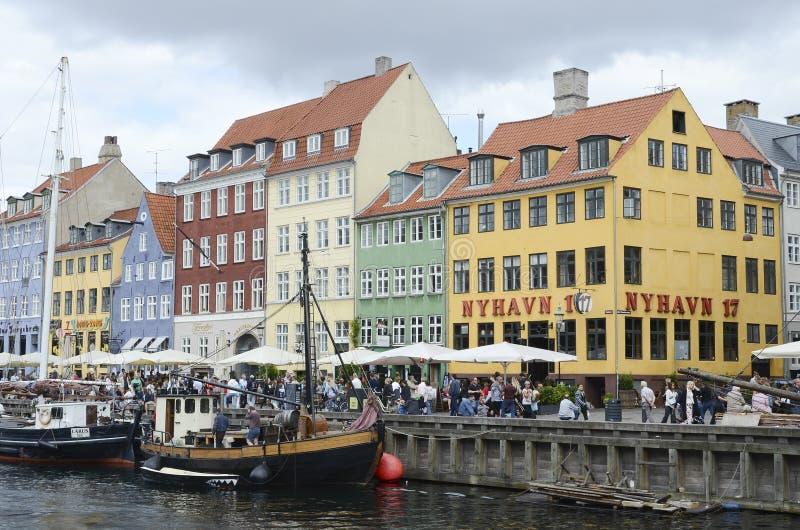 nyhavn copenhagen стоковая фотография rf