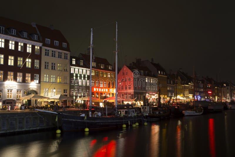 Nyhavn a Copenhaghen, Danimarca fotografie stock