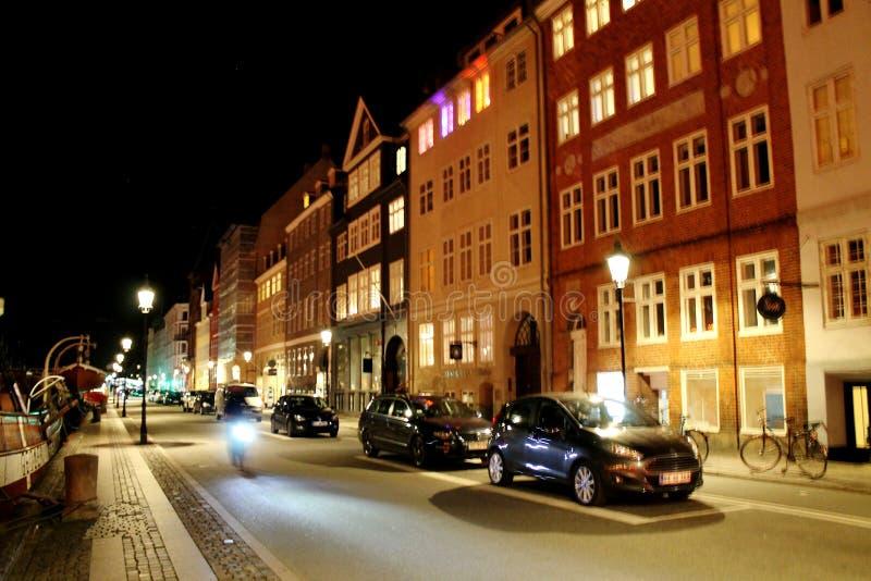 Nyhavn Kopenhagen stockfoto