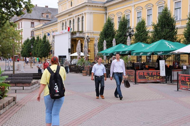 Nyiregyhaza, Hungría foto de archivo