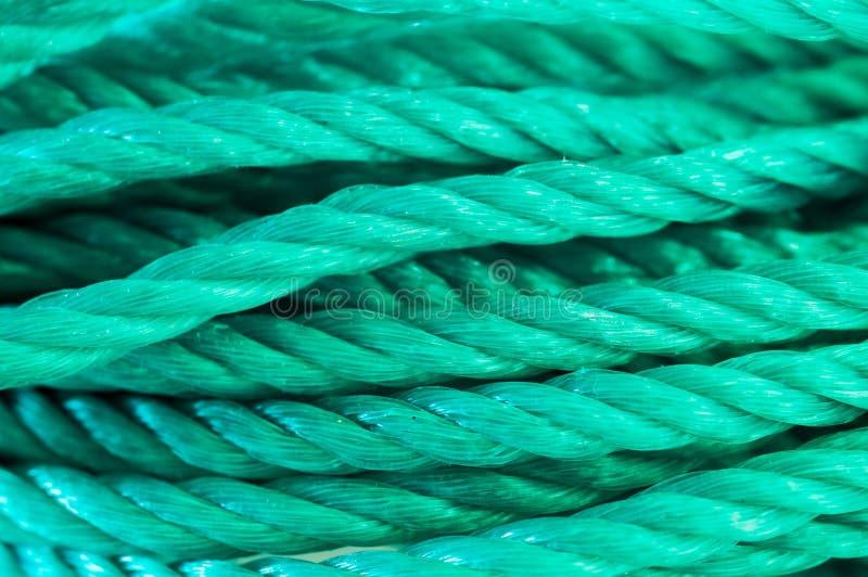 Nylon kabel royalty-vrije stock afbeeldingen