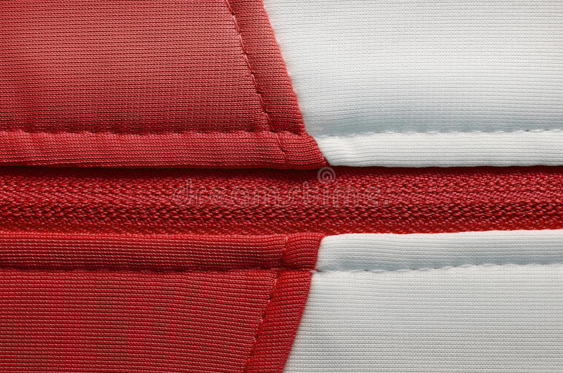 Nylon red fabric texture background stock images