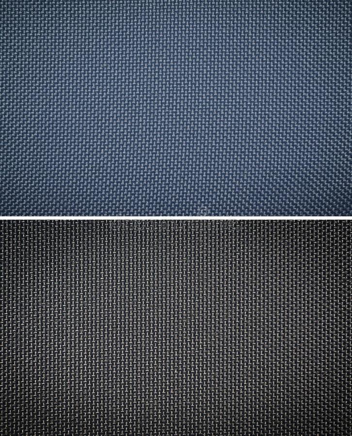 Nylon texture. Nylon fabric texture background, set royalty free stock photo