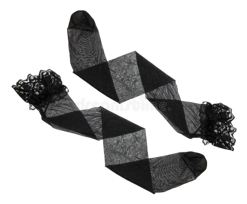 Nylonkousen stock afbeelding
