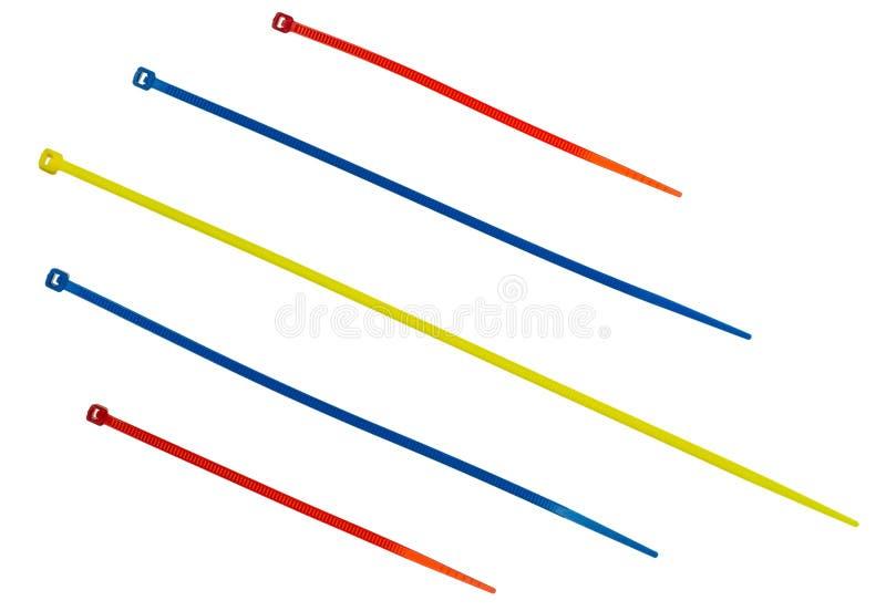 Nylonu kabla krawaty zdjęcia royalty free