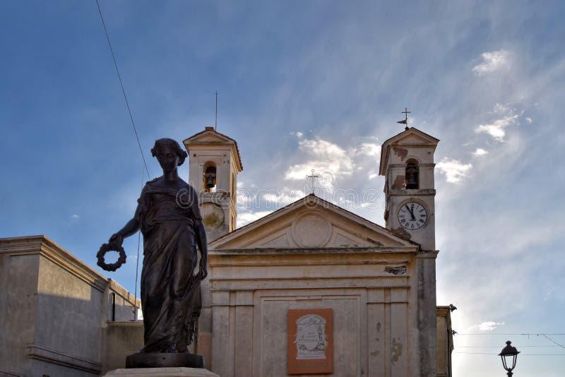 Nymf Aricia, Italien, Ariccia arkivbilder