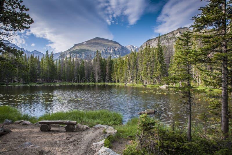 Nymph Lake arkivfoton