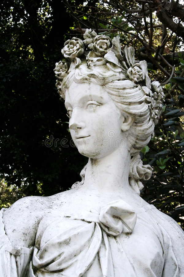 Nymph's Statue stock photo