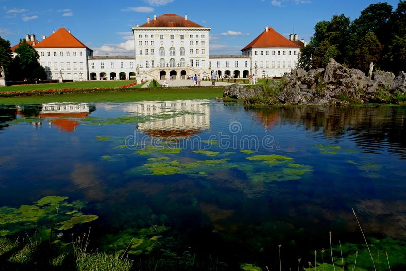nymphenburg παλάτι στοκ εικόνες με δικαίωμα ελεύθερης χρήσης