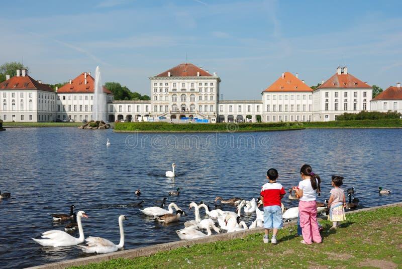 Nymphenburg Castle royalty free stock image