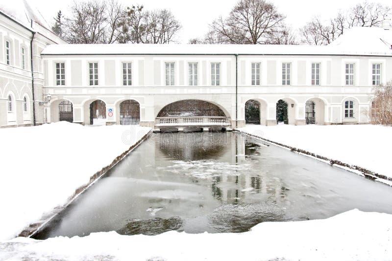 Nymphenburg Castle, Munich. Germany stock photos