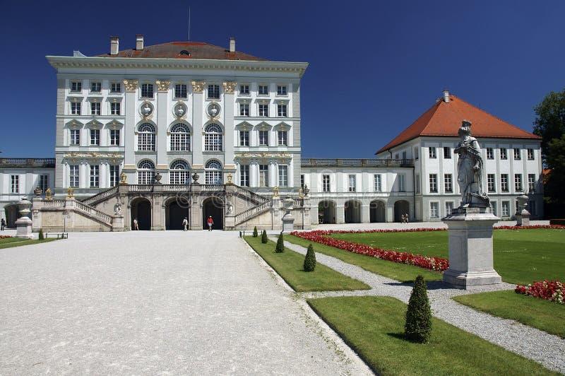 nymphenburg pałacu obraz royalty free