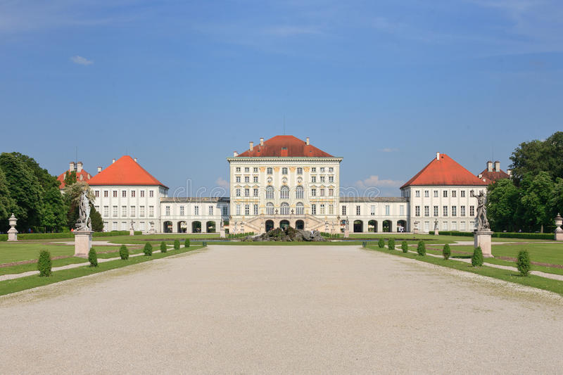 Nymphenburg Palace, Munich - Germany stock images