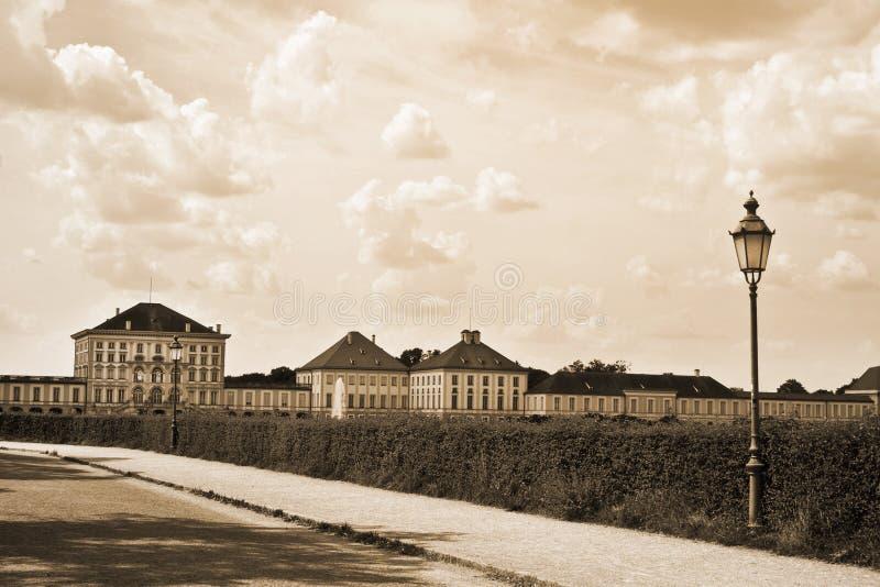 Nymphenburg park stock photo